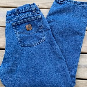 Carhartt Flannel Lined Jeans (40x30)